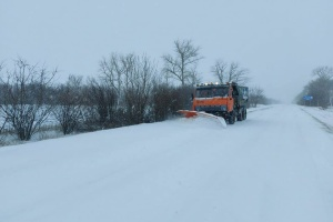 На межі Львівської й Волинської областей обмежили рух через негоду