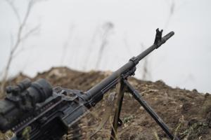 Ворожий снайпер відкривав вогонь біля Мар'їнки, пошкоджена камера спостереження