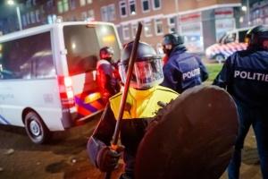 Поджоги и ограбления: в Нидерландах задержали 184 участника «карантинных» протестов