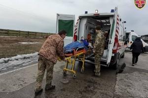 Раненых бойцов эвакуировали из Харькова в госпитали Киева и Винницы