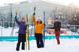 Фінляндія запустила перший у світі проєкт міського скішерінгу