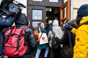 У Запоріжжі журналісти пікетували міськраду