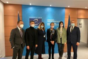 Депутаты Рады и генсек Совета Европы обсудили Крымскую платформу