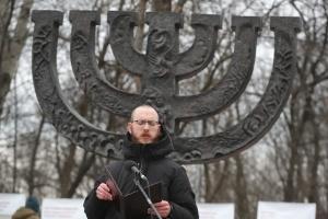 В Бабьем Яру почтили память жертв Холокоста