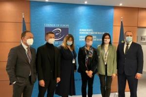 Los parlamentarios ucranianos y la Secretaria General del Consejo de Europa debaten la Plataforma de Crimea