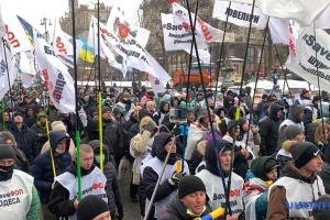 #SaveFOP: Kleinunternehmer protestieren erneut in Kyjiw