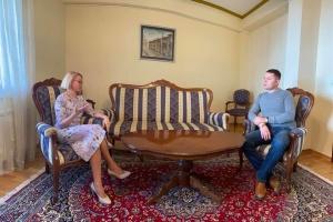 Українське посольство і громада в Північній Македонії обговорили реалізацію спільних проєктів