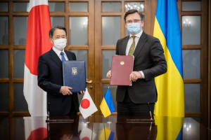 日本政府、ウクライナ国境警備庁の医療機材購入用無償資金協力に合意