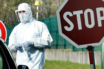 1月4日時点 ウクライナ国内新型コロナ新規確認数4158件