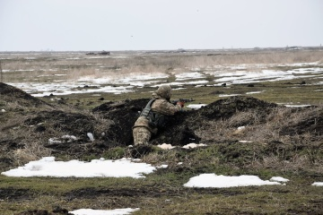 Invaders fire grenade launchers near Hnutove and Vodiane
