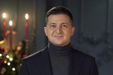 Jak Ukraińcy ocenili noworoczne orędzie Zełenskiego
