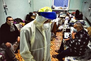 1月7日時点 ウクライナ国内新型コロナ新規確認数8977件