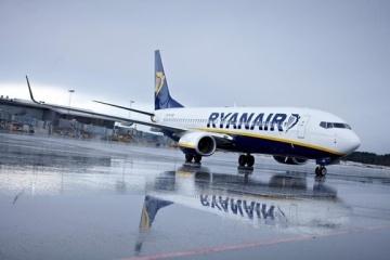 Ryanair suspends 70% of flights from Kyiv until spring