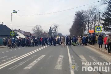 Des milliers d'Ukrainiens manifestent contre l'augmentation des tarifs du gaz