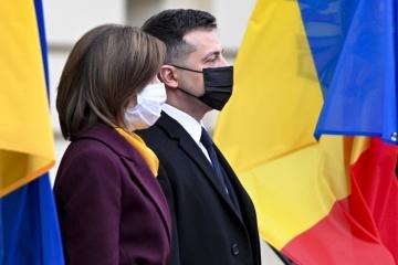Zelensky meets with Sandu in Kyiv