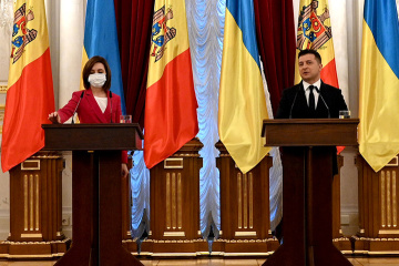Sandu: Moldova unreservedly supports Ukraine's territorial integrity