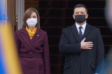 ウクライナ大統領府、サンドゥ・モルドバ大統領のキーウ訪問を総括