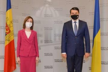 Treffen des Rada-Chefs mit Sandu: Kampf gegen Korruption und Donbass auf Agenda