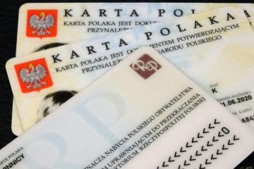 Over 7,000 Ukrainians received Pole's Card last year