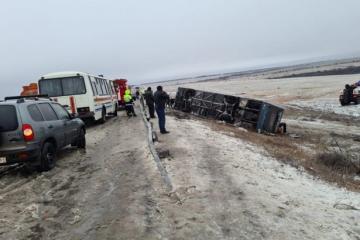 Russie : un bus se renverse avec des Ukrainiens à bord