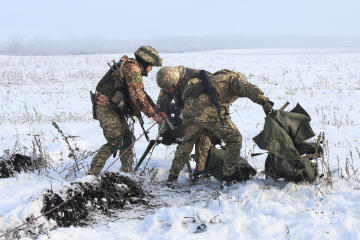 Invaders violate ceasefire in Donbas seven times