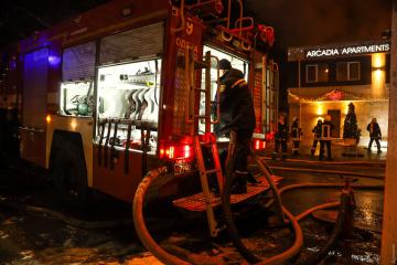 Odessa : Un incendie se déclenche dans un hôtel, deux personnes périssent