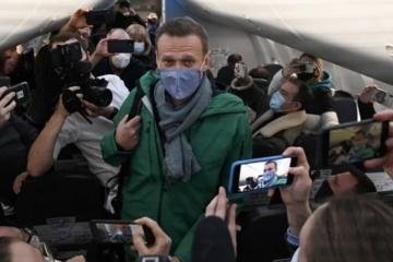 Zatrzymanie Nawalnego - Ukraina żąda od Rosji uwolnienia wszystkich więźniów politycznych