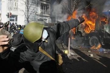 Revolution der Würde: Heute vor drei Jahren dauerten Auseinandersetzungen auf Maidan