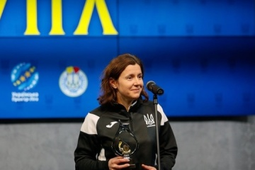 Kateryna Monsul ist Fußballschiedsrichterin des Jahres