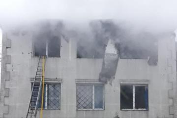 Fire in Kharkiv elderly care home kills 15