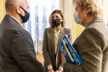 Olena Zelenska obtiene el apoyo de UNICEF en áreas de trabajo con niños y jóvenes