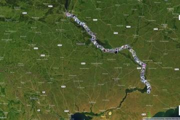 キーウからクリミアへ、オンライン「統一の鎖」プロジェクト開催中