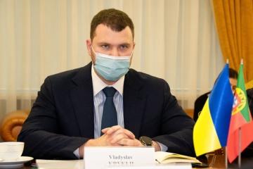 Ukrainian infrastructure minister, Portuguese ambassador discuss cooperation in aviation, transport