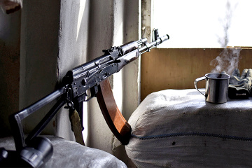 Five ceasefire violations in Donbas, Ukrainian soldier wounded