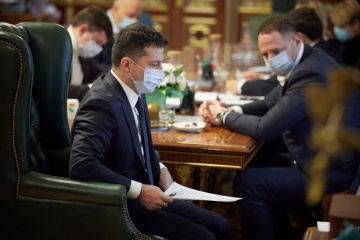Renewal of EU-Ukraine Association Agreement discussed at meeting with Zelensky