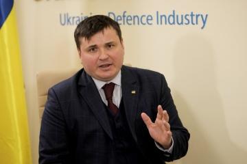 Yuriy Husiev, Director General of Ukroboronprom
