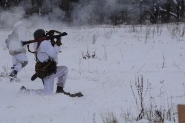 1月28日の露占領軍の停戦違反3回 大口径兵器使用あり=統一部隊