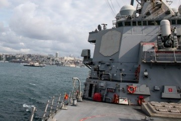 U.S. destroyers Porter, Donald Cook hold operation in Black Sea