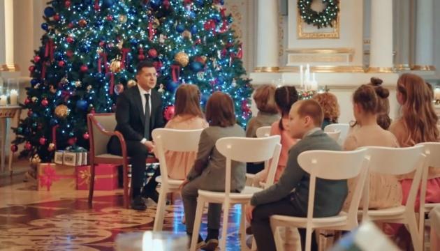 Зйомки дітей у новорічному привітанні Президента відбувалися законно – ОП