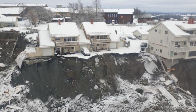 На місці зсуву в Норвегії знайшли сьомого загиблого