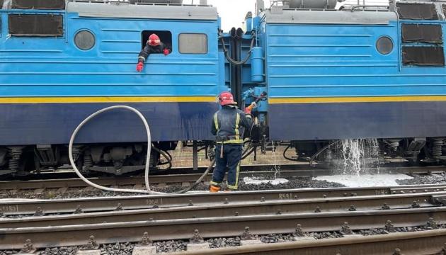 На Рівненщині під час руху загорівся поїзд Миколаїв-Рахів