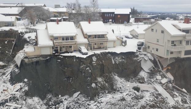 Зсув ґрунту в Норвегії: знайшли тіло третього загиблого