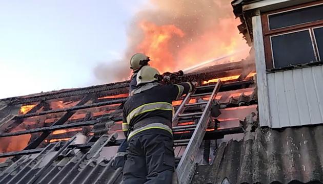 На Хмельнитчине горел монастырь