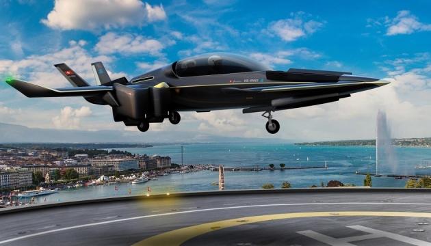 У Швейцарії показали прототип міського аеротаксі з вертикальним зльотом