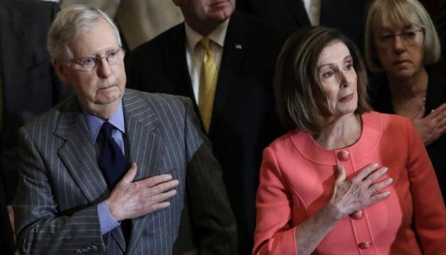 Вандали «атакували» будинок лідера більшості в Сенаті США