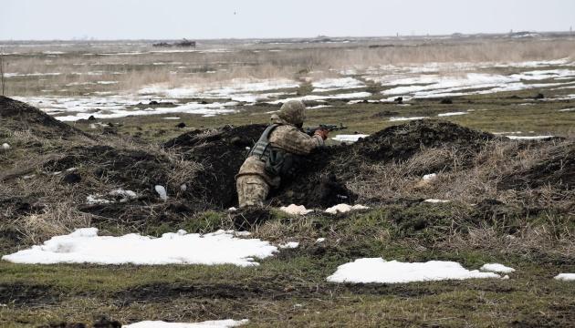 На Донбассе оккупанты десять раз нарушили «тишину», двое бойцов ранены