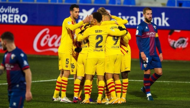 «Барселона» обіграла «Уеску» в 500-му матчі Мессі у Прімері