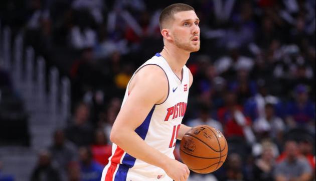 НБА: «Детройт» Михайлюка програв п'ятий матч в сезоні, поступившись «Бостону»