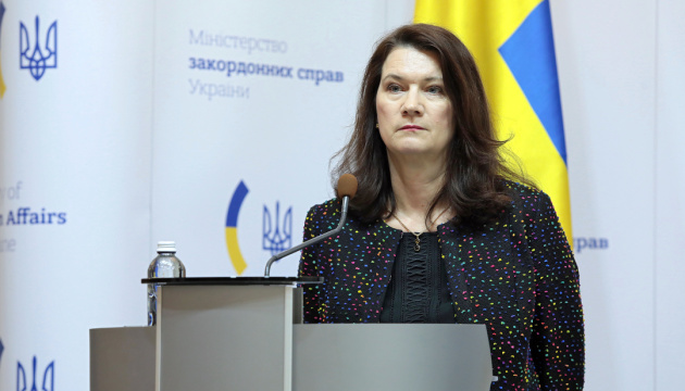 Linde: Suecia continuará sus esfuerzos para resolver el conflicto en el Donbás