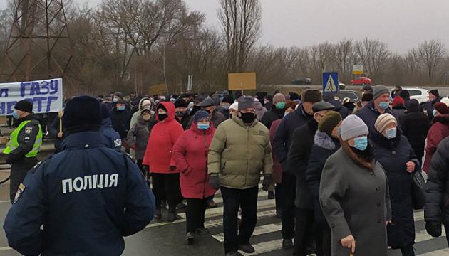 Перекриття траси на Полтавщині тривало дві години - поліція